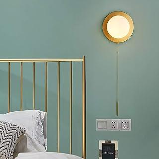När allt kommer omkring Koppar Skandinavisk Modern Designerinredd Vardagsrum Vägglampa Sovrum Sänglampa Kreativ Personligh...