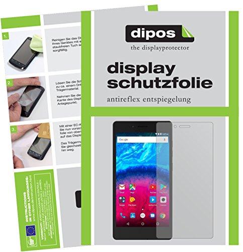 dipos I 2X Schutzfolie matt kompatibel mit Archos 50 Core 5,0 Zoll Folie Bildschirmschutzfolie