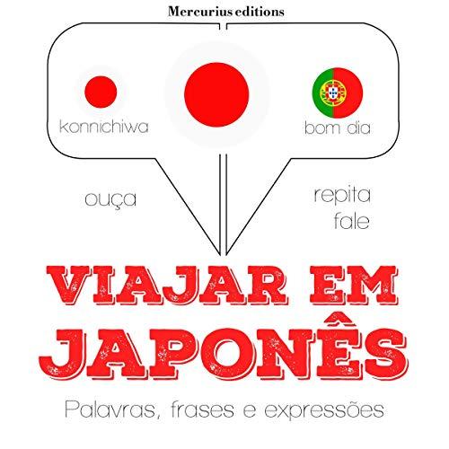 Viajar em japonês audiobook cover art