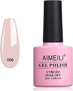 AIMEILI Soak Off UV LED Gel Nail Polish Neon Glow In The Dark Range - (066) 10ml