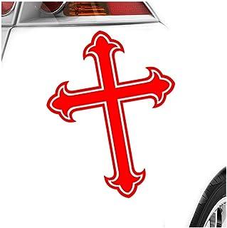 KIWISTAR Lilienkreut   Ritterkreuz   Altes Kreuz IN 15 FARBEN   Neon + Chrom! Sticker Aufkleber