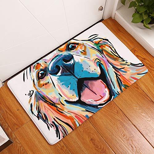 ACIJLRVZK Bedrucken Von Teppichen rutschfeste Bodenmatte Küche Wohnzimmer Außenteppiche Tier