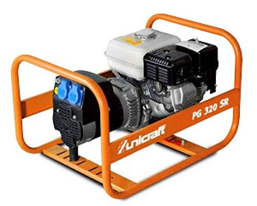 PG 320 SR Synchron-Stromerzeuger Unicraft Art.-Nr. 6700031