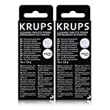 Krups XS 3000 pastillas de limpieza para Espresseria Automatic, 2 - Pack