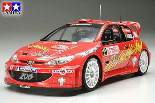 タミヤ 1/24 スポーツカーシリーズ No.283 ボジアンレーシング プジョー206 WRCモンテカルロ 2005 プラモデル 24283