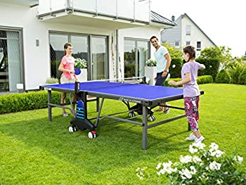 Kettler Outdoor 10 Table Tennis Table with Accessories  Blue
