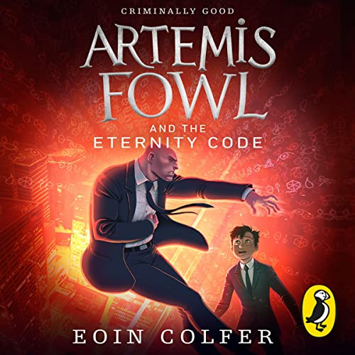 Artemis Fowl and the Eternity Code cover art