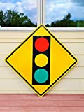 EpochSign Señal de Advertencia Señal de Advertencia Señal de tránsito Pesado de Aluminio Retirado de 12 x 12 Pulgadas