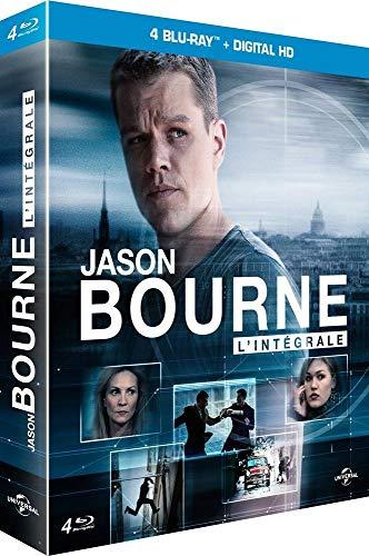 Coffret jason bourne 4 films [Blu-ray] [FR Import]