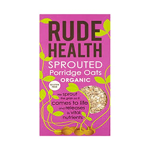 Rude Health Foods | Sprouted Porridge Oats Org Gf | 6 x 500G