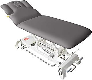 Elektrische Massageliege Houston Höhenverstellbare 2 Zonen Profi Behandlungsliege ca. 198 x 74 cm Kosmetikliege Therapieli...