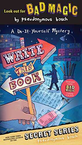Write This Book: A Do-It-Yourself Mystery (The Secret Series) (English Edition)