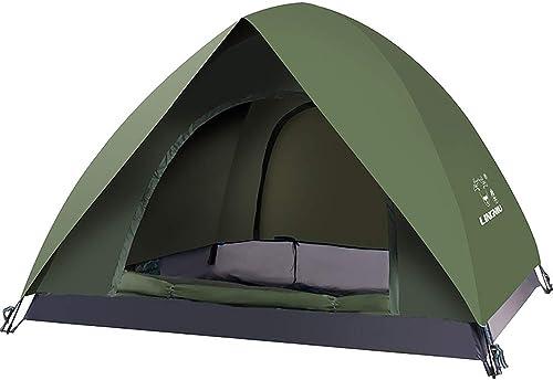 NCBH Tente compacte légère résistante à l'eau pour Les randonnées en Plein air portatives Anti-UV de randonnée