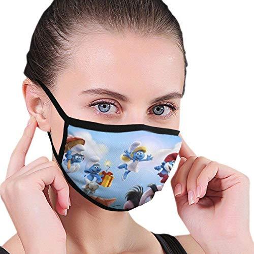 Die Schlümpfe Männer Frauen Kinder Mundschutz Winddichte Mundschutz Atmungsaktive Fahrradabdeckung 1 Stck