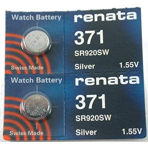 #371 Renata Watch Batteries 2Pcs