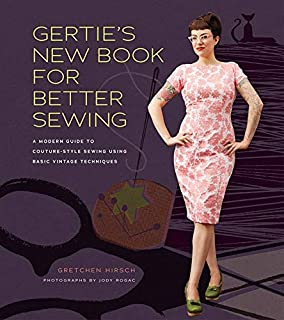 gertie's book for better sewing patterns