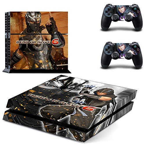 FENGLING Dead Or Alive Ps4 Adesivi Playstation 4 Skin Ps4 Sticker Decal Cover per Playstation 4 Ps4 Console & Controller Skins Vinile