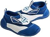 Cressi - Coral - Chaussures de plage et piscine - Enfant - Bleu (Blanc/Blue) - Taille 25