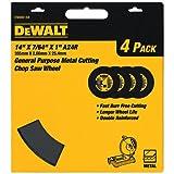 DEWALT Cutting Wheel for Chop Saw, Metal Cutting, 14-Inch (DW8001B4)