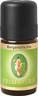 PRIMAVERA Ätherisches Öl Bergamotte bio 5 ml - Aromaöl, Duftöl, Aromatherapie - stimmungshebend, beruhigend, entkrampfend - vegan
