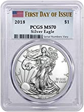 Best 2016 silver eagle ms70 first day of issue Reviews