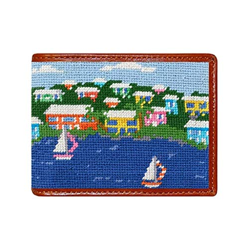 Island Time Needlepoint Wallet by Smathers & Branson
