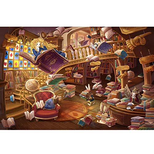WLH- 3D Kinderen houten puzzel Castle Wereld iconische Educational Intelligence Games (Size : 500pc)