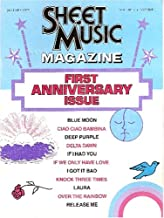 Sheet Music Magazine - January 1978 (First Anniversary Issue, Volume 2 Number 1)