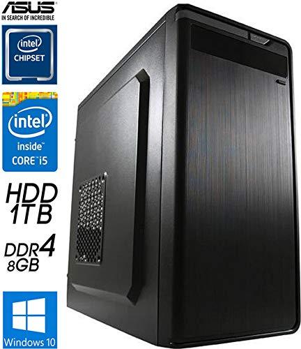 SNOGARD OFFICE PC | i5-9400 | 8GB DDR4 | 1TB+240GB SSD | Intel Grafik | W10Pro Büro Computer Komplettsystem