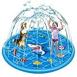 Sprinkle & Splash Play Inflatable Mat 59 in-Diameter Outdoor Sprinkler Pad Summer Fun