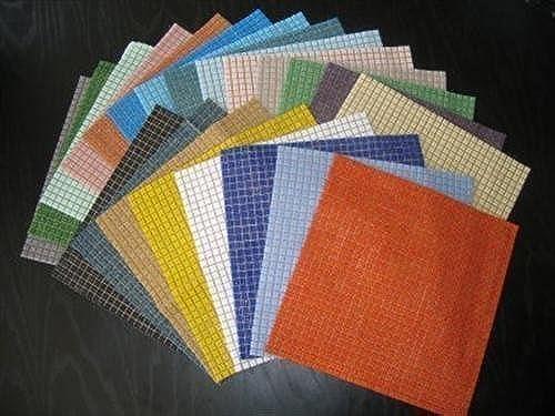 Mosaic Tile Mix. 22 Sheet 1cm Hobby pack 18502 tile Bargain