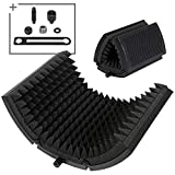 TONOR Microphone Isolation Shield, Studio Mic Sound Absorbing Foam Reflector for Any Condenser...