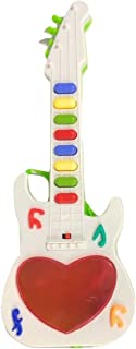 Aurawings.in Music Mini Guitar with 3 D Light and Sound for Kids ( Multi Color )