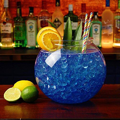 Riesiges, rundes Goldfischglas/Cocktailglas, Kunststoff, 5 L