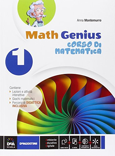 Math genius. Palestra matematica. Per la Scuola media. Con e-book. Con espansione online (Vol. 1)