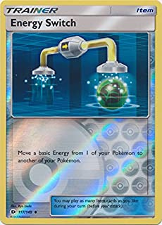 Energy Switch - 117/149 - Uncommon - Reverse Holo - Pokemon Sun & Moon