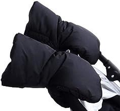 Guantes de cochecito de bebé, INTVN Guantes Forro Polar Impermeable Prueba de Viento para Cochecito Carrito Silla de Bebé Invierno