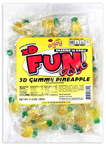 Enjoy Fun Pack 3D Gummy (Pineapple)
