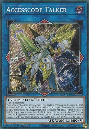 Accesscode Talker - ETCO-EN046 - Secret Rare - 1st Edition