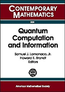 Quantum Computation and Information: AMS Special Session Quantum Computation and Information, Washington, D.C., January 1...