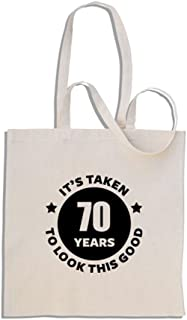It's Taken 70 Years to Look This Good - Mango Largo Bolso de Compras de algodón …