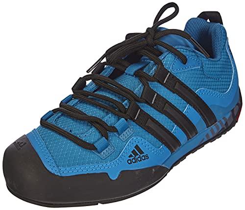 Adidas Terrex Swift Solo, Walking Shoe Hombre, Dark Solar Blue/Core Black/Solar Blue, 47 1/3 EU