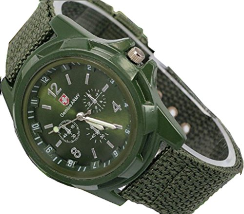 Men and Boys Army Green Military Camper Watch , Watch A.G.M.C.W.