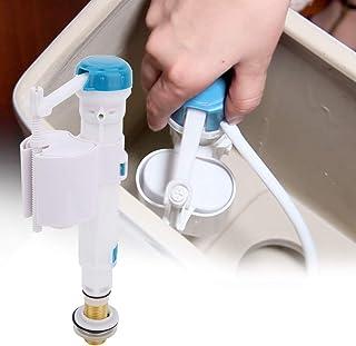 Flush Stortbakventiel In lengte verstelbaar Toilet Drukknopventiel Lange levensduur Duurzaam Blauw + Wit(4 points copper i...