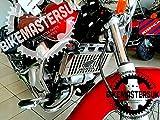 BM UK Protector de cubierta de radiador para motocicleta Honda Shadow VT125 SHADOW VT 125