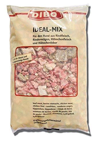 DIBO Ideal-Mix, 3 x 2.000g-Beutel, Tiefkühlfutter, gesunde, natürliche Ernährung für Hunde, Hundefutter, Barf, B.A.R.F.