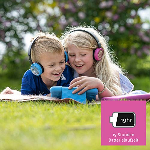 Bluetooth-Kinderkopfhörer BuddyPhones Pop-Time mit Lautstärkebegrenzung