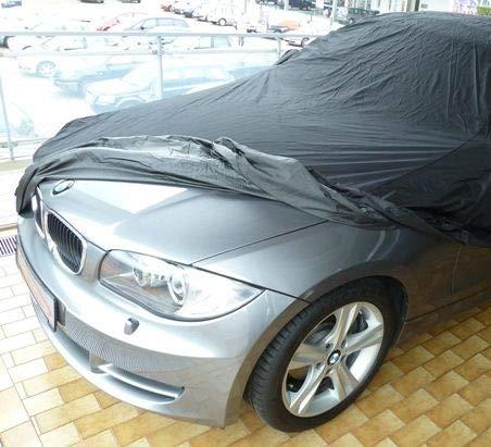 AMS Vollgarage Anti-Frost für BMW 1er Cabrio E88, schützende Autoabdeckung mit Perfekter Passform, hochwertige Abdeckplane als praktische Auto-Vollgarage