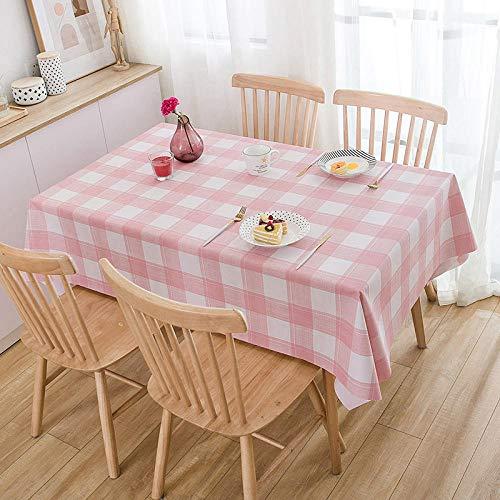 YuHengJin Manteles Antimanchas Mantel Rectangular Resistente Al Desgaste Anti Escaldado de Impermeable Vintage Decoración Rosa 110×160cm