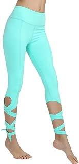 Yoga Pants Yoga Capris Leggings - Gifts for Women no See Through Yoga Leggings 4 Way Stretch Dance Pants with Pocket